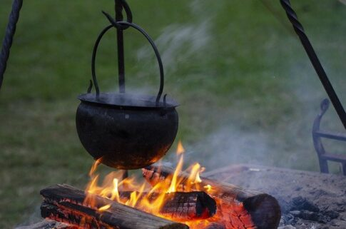 What are the 5 most important survival skills, cauldron over fire