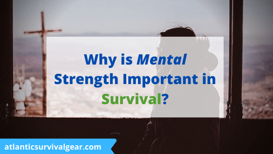Why is mental strength important in survival