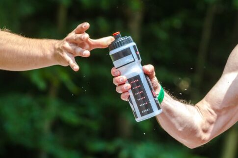 Are bug out bags necessary, handing over a water bottle