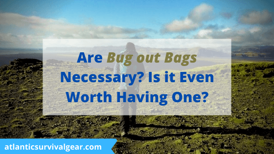 Are but out bags necessary