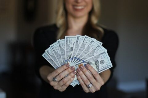 Why are money important survival kit, woman money dollars