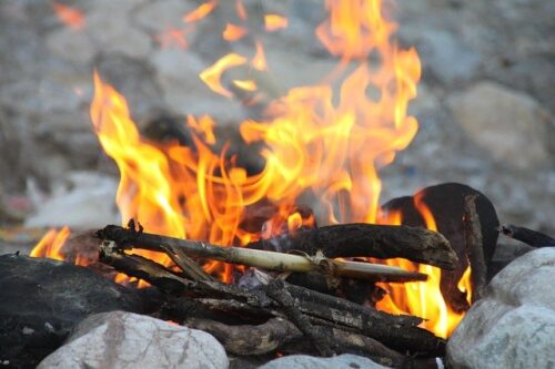 Best Way to Prepare Food in a Survival Situation, campfire
